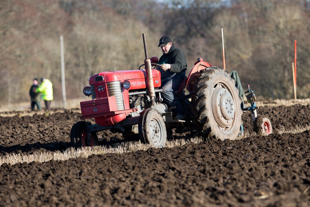Black Isle Farmers' Society 2016 Ploughing Match